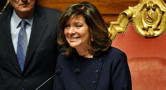 Спикером итальянского парламента впервый раз будет женщина