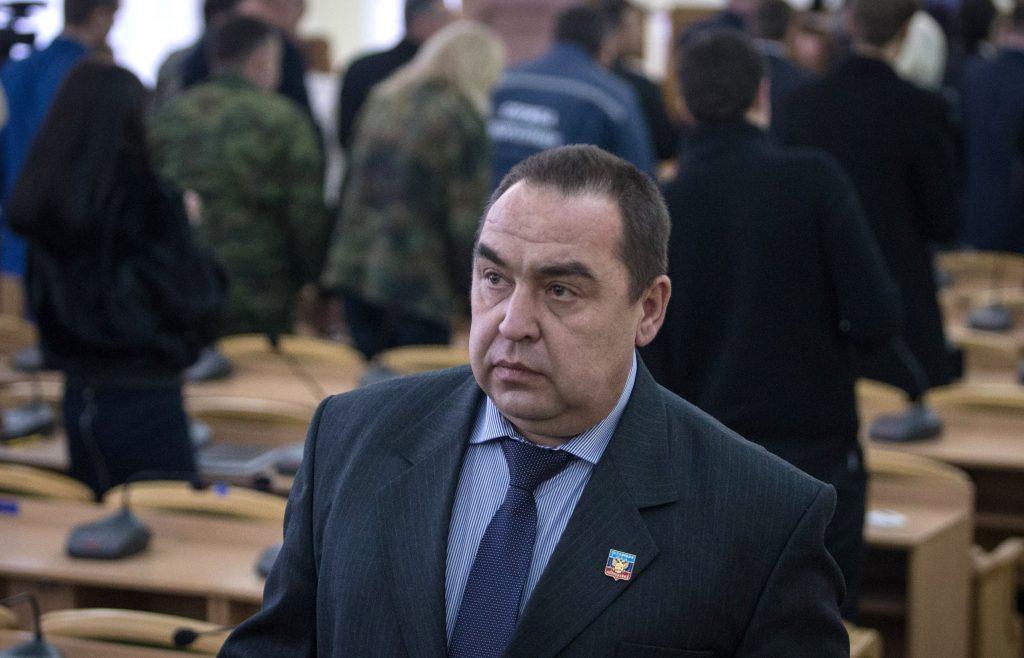 СМИ отыскали Плотницкого: заним «присматривают»
