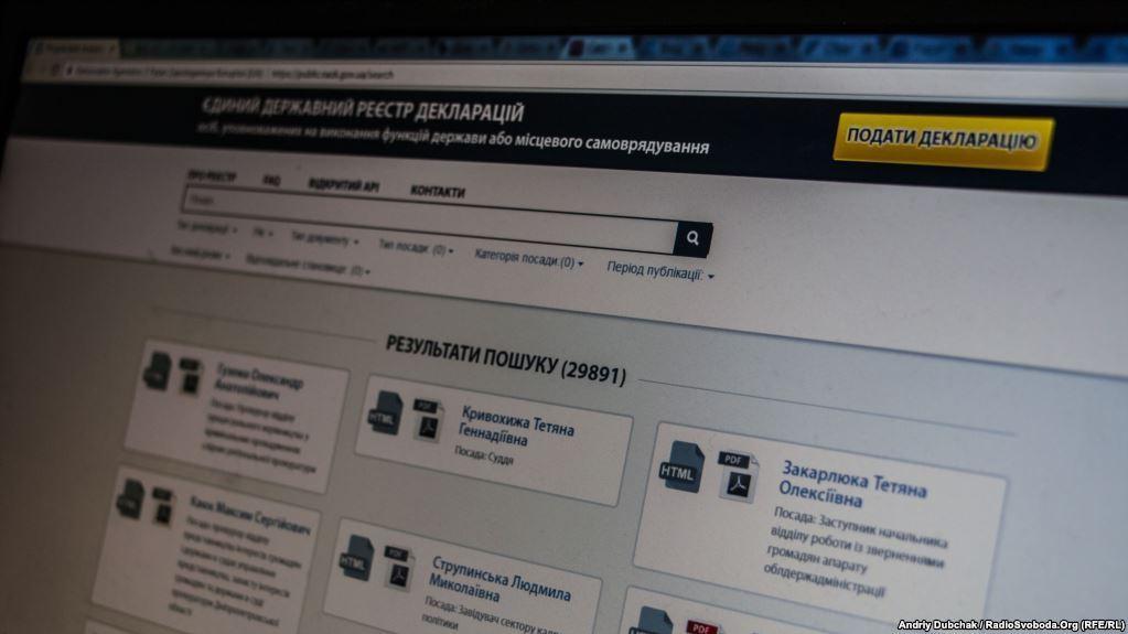 НАПК назвало нардепов, которые проигнорировали е-декларирование
