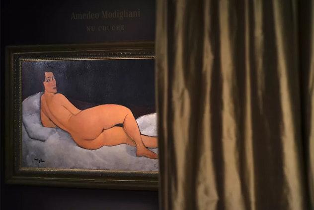 Картину Модильяни выставят нааукцион срекордной оценочной стоимостью в $150 млн.
