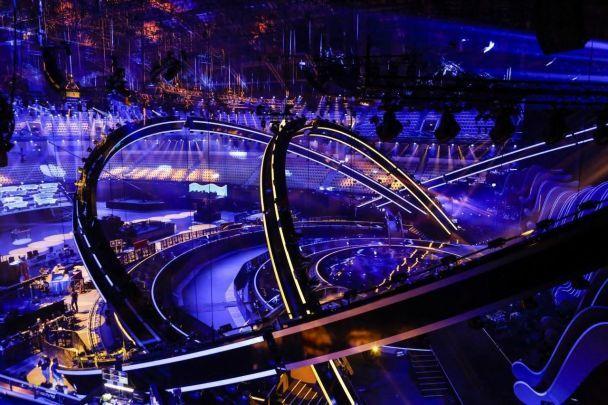 ВЛиссабоне уже подготовили сцену для Евровидения