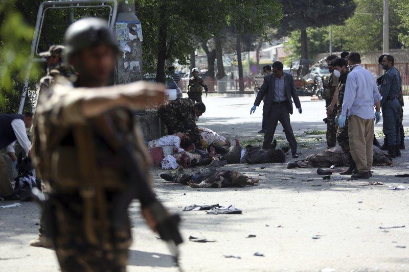 Террористы-смертники устроили серию взрывов вКабуле, есть пострадавшие