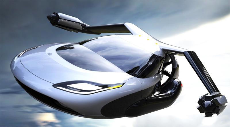 В предстоящем 2019г в реализацию поступят первые летающие автомобили
