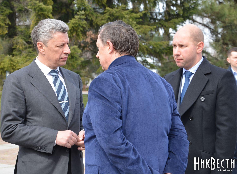 Юрий Бойко, Вячеслав Рукоманов и Александр Гайду.