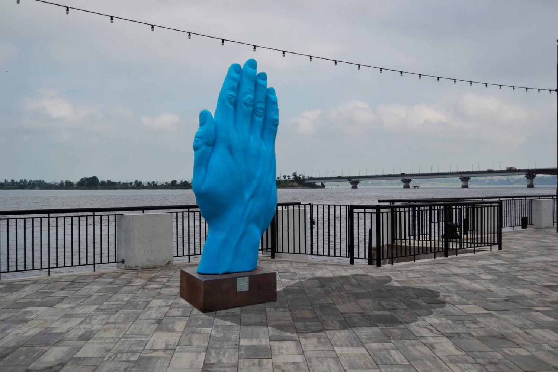 ВНиколаеве решили, где установят арт-объект «Синяя рука»