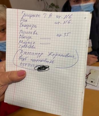 Подвозом избирателей в Николаеве занимается бывший вице-мэр Женжеруха, платит Чайка