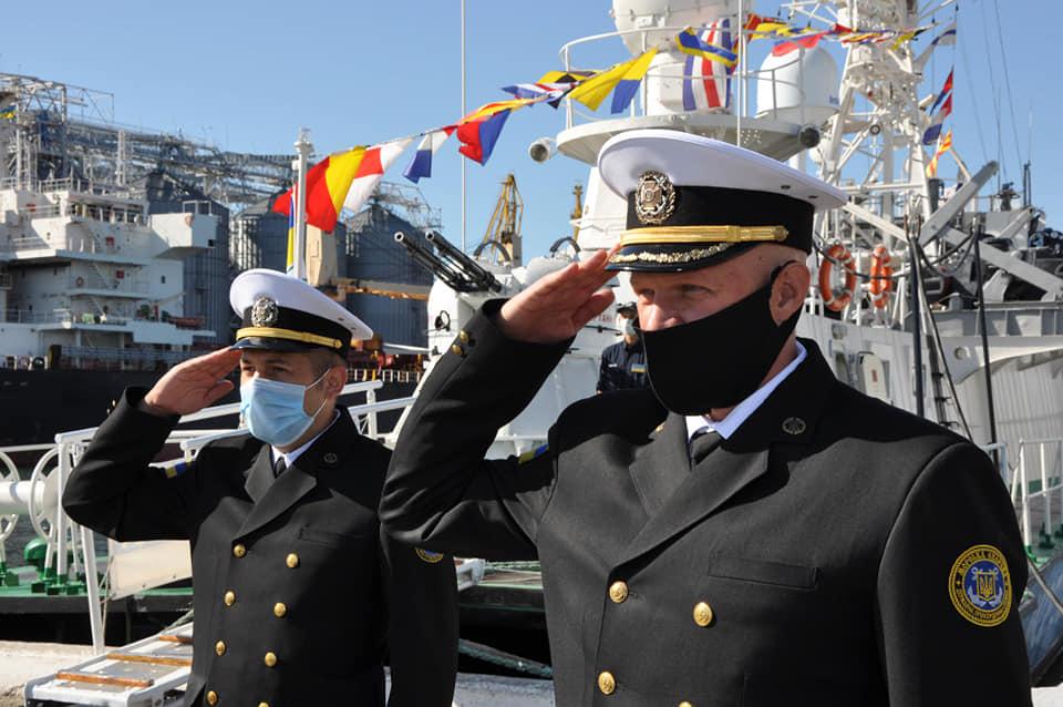Поздравления кораблю на поднятие флага идеальном