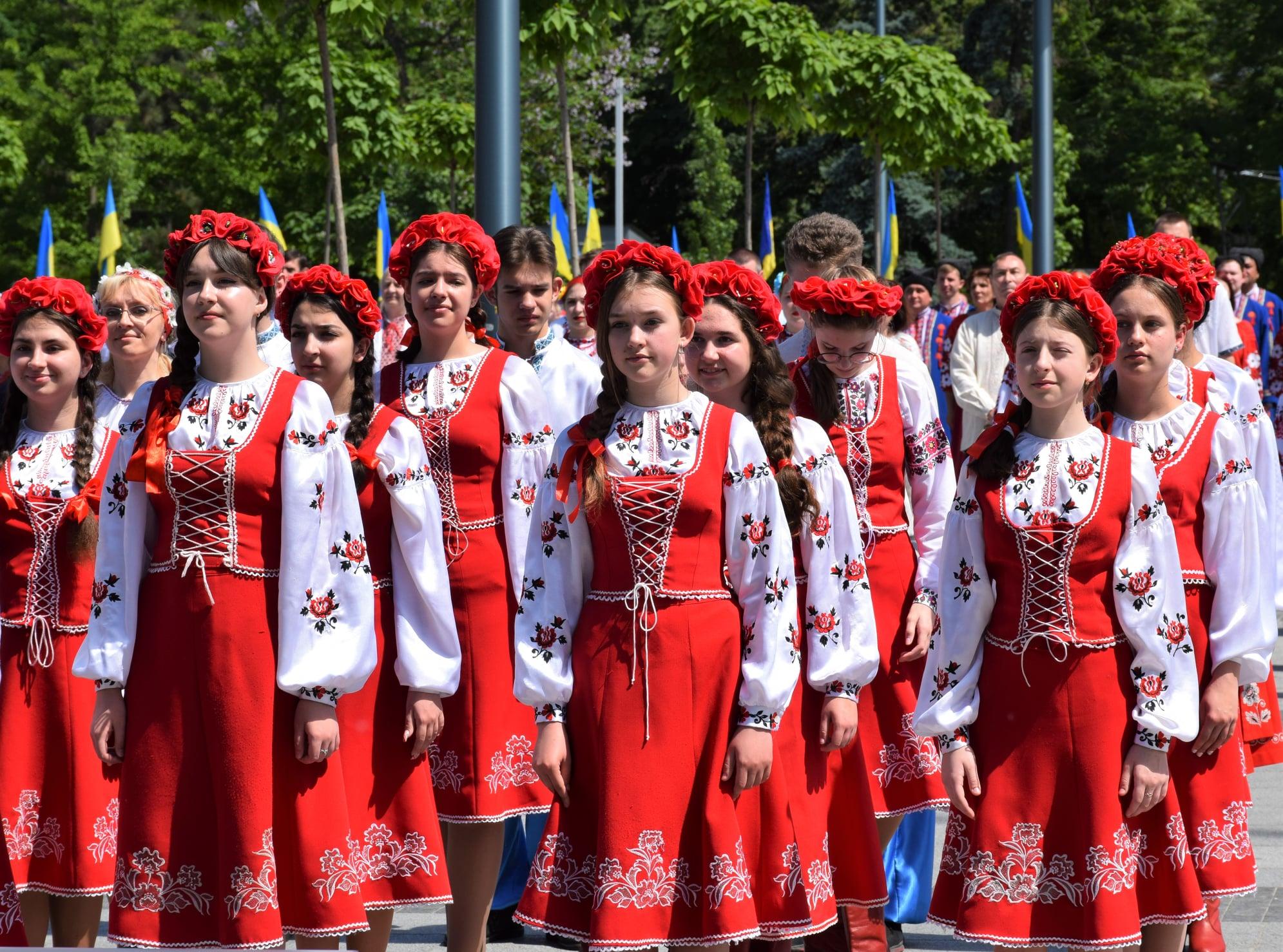 Флешмоб «Гимн Украины»
