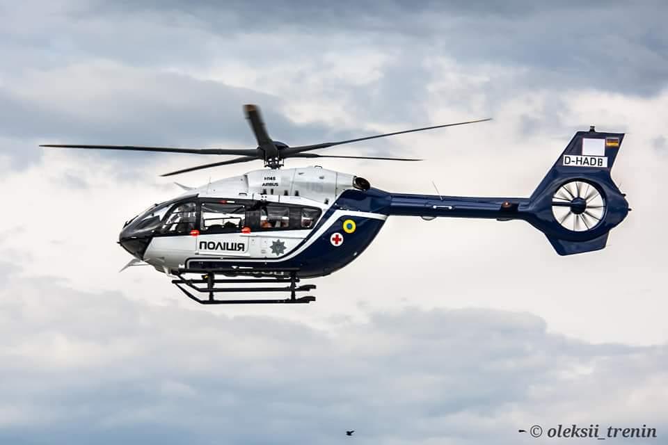 В Украину доставили пятый французский вертолет, предназначенный для по