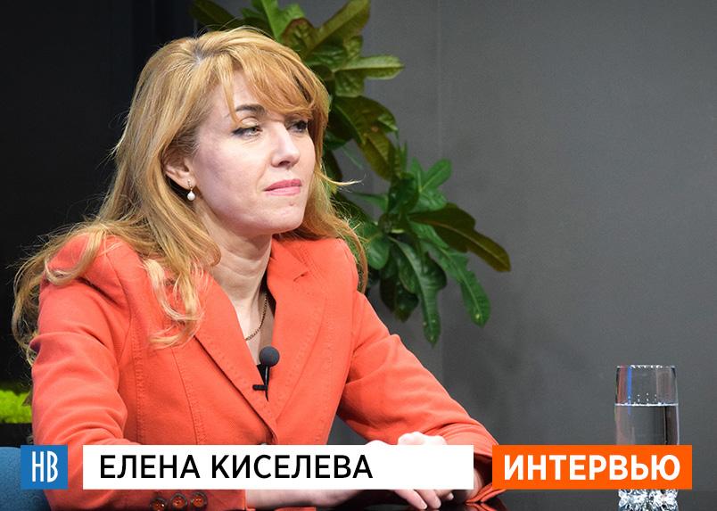 Елена Киселева в студии НикВестей