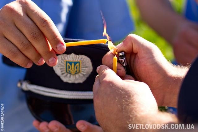 Николаевские правоохранители почтили память коллег, погибших при выполнении служебных обязанностей