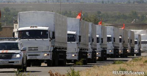 Российские таможенники заявили об отправке в Украину всех грузовиков