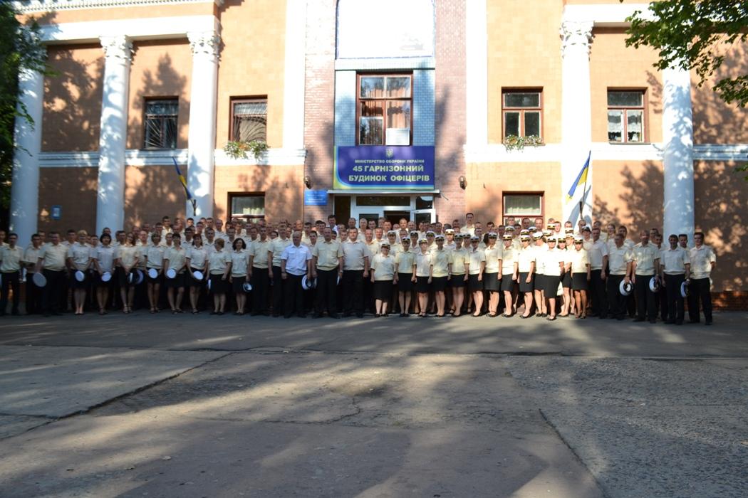 Базирующаяся в Николаеве 10-я Сакская морская авиационная бригада отметила 10 лет своего существования