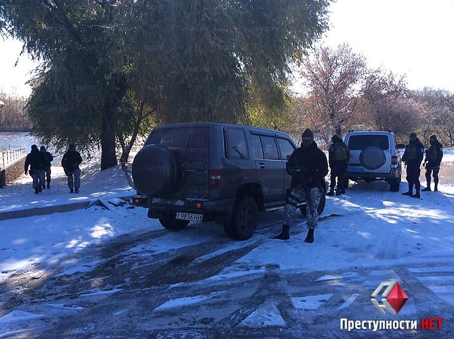 В Первомайск направлены силовики и спецназ Святой Николаев для охраны порядка на выборах