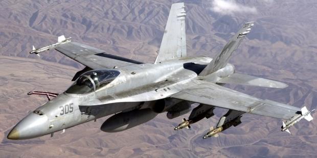 Украина отказалась от нескольких десятков канадских истребителей F-18