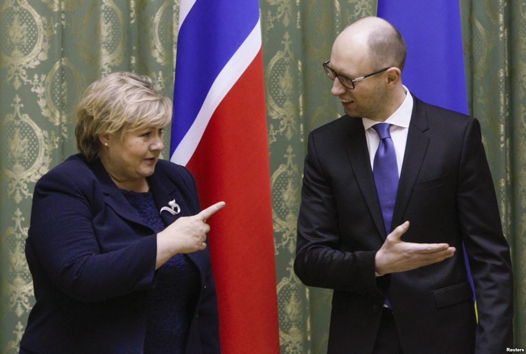Норвегия заморозила дружбу с РФ из-за Крыма и Донбасса