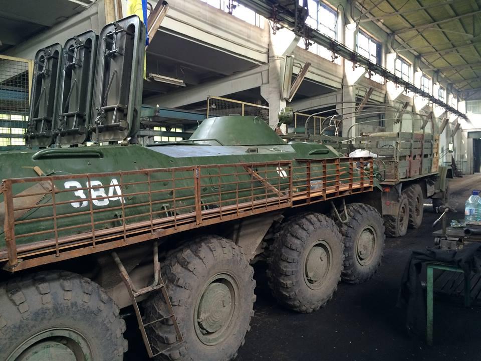Министерство обороны Украины заказывает ремонт техники на предприятиях Укроборонпрома.